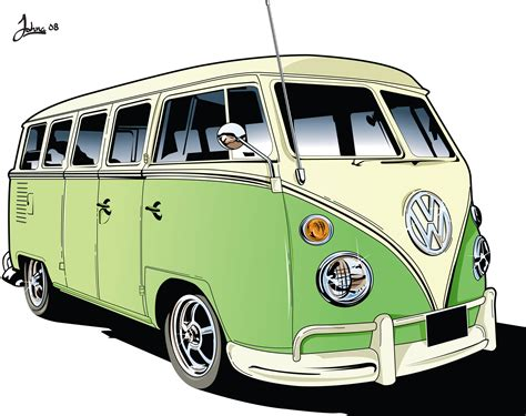 volkswagen old van drawing vw cer van vectorial motor pinterest vw vw