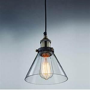 Industrial pendant lighting glass : Aliexpress buy modern industrial vintage clear glass