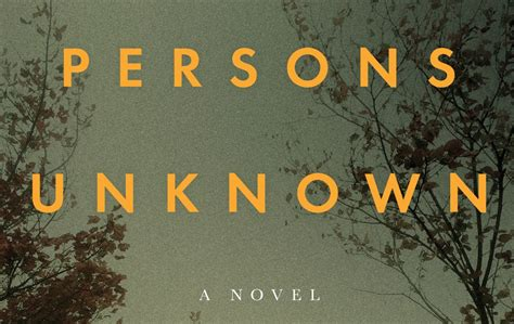 Persons Unknown - The Barnes & Noble Review