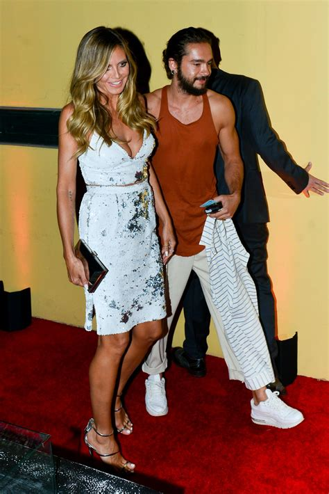 Heidi Klum Arriving The Simon Cowell Hollywood Star