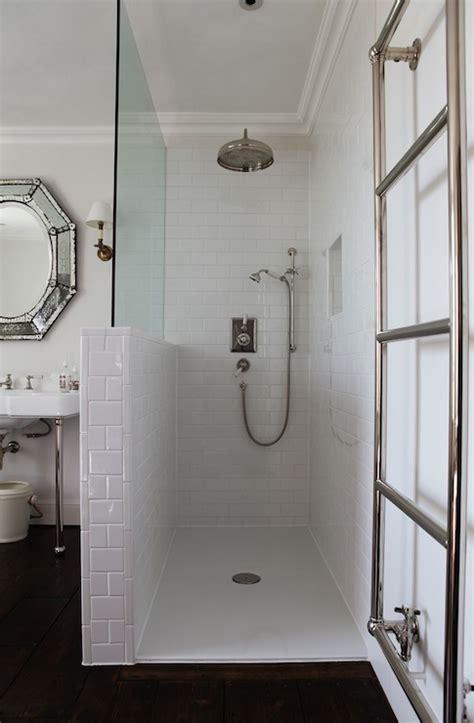 open shower bathroom design open shower design vintage bathroom shoot factory