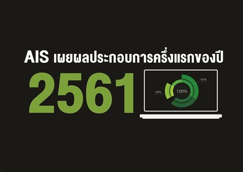 AIS เผยผลประกอบการครึ่งปีแรก 2561 กำไรสุทธิ 16,042 ล้านบาท ...