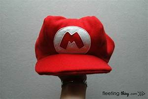 Super Mario Hat Pattern And Tutorial
