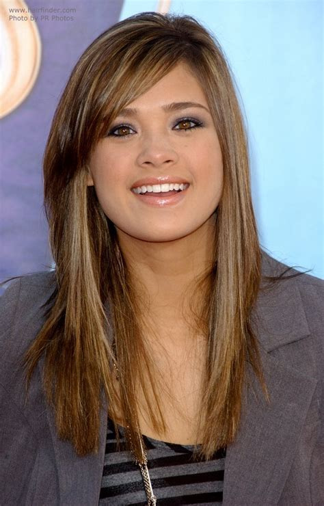 Nicole Anderson   Comfortable and natural long hairstyle