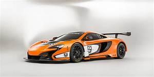 mclaren, unveils, 650s, gt3, race, car, at, the, goodwood, fos