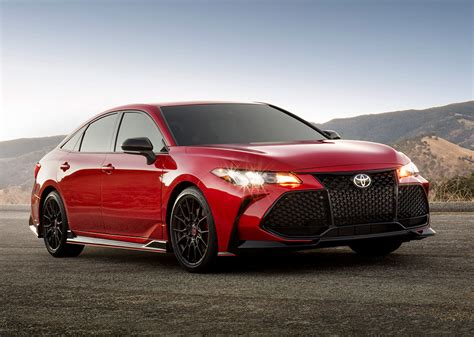 toyota camry avalon  trd tuned variants