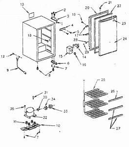 Kenmore Freezer Parts
