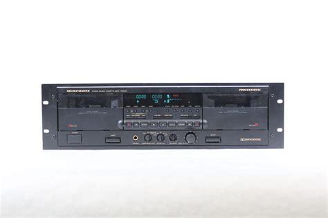 marantz cassette marantz pmd 500 professional cassette deck w