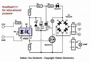 Ac pwm dimmer for arduino with pictures for Ac dimmer circuit