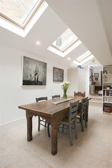 kitchen roof lights side return extension 2509