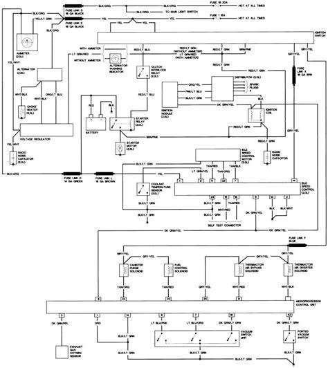 1989 Bronco 2 Wiring Diagram by Bronco Ii Wiring Diagrams Bronco Ii Corral
