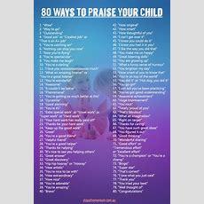 80 Ways To Praise Your Child