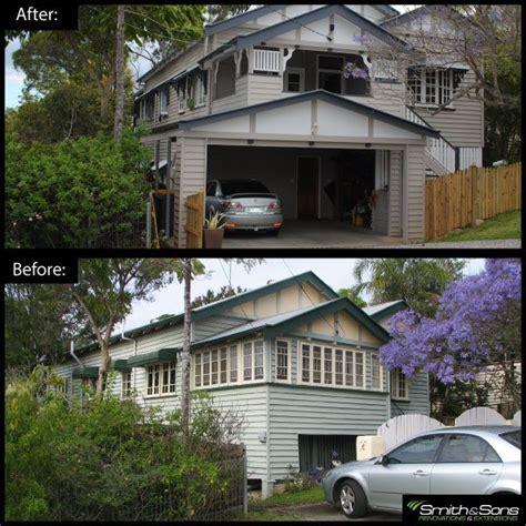 complete exterior renovation    queenslander