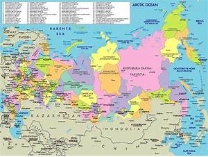 russia map - Free Large Images