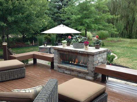 deck fireplaces northfield fireplace grills pictures outdoor