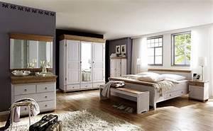 Schlafzimmer Weiß Grau : massivholz schlafzimmer set komplett kiefer massiv wei antik ~ Frokenaadalensverden.com Haus und Dekorationen