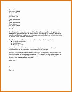 Formal Letter Format For  theveliger