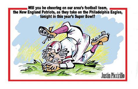 Meriden Cartoon Super Bowl