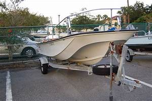 1986 Boston Whaler 17 Montauk Power Boat For Sale Www