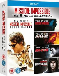 Mission Impossible 5 : mission impossible 1 5 boxset blu ray zavvi ~ Medecine-chirurgie-esthetiques.com Avis de Voitures