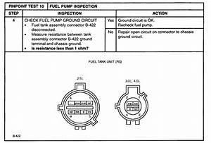 2001 Mazda B3000 Fuel Pump Is Intermittent At Startup