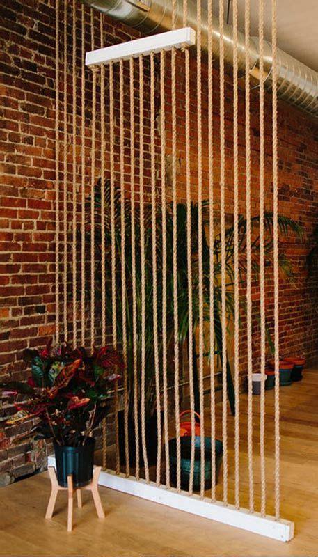 Rope Room Divider  Diymiycraft Ideas  Pinterest Room