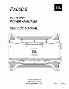 Jbl Px600 2 Sm Service Manual Download  Schematics  Eeprom