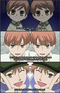 """""""Which one is Hikaru"""" game, Hikaru, Kaoru, Hitachiin twins ..."""