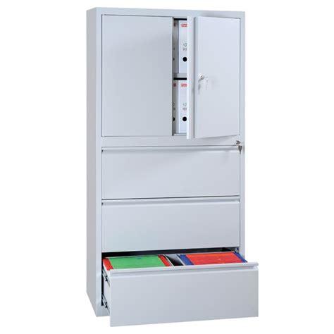 armoire bureau metallique armoire métallique à portes et à tiroirs armoires de