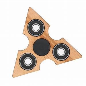 Holz Fidget Spinner : beste dreieck holz zappeln hand finger spinner spin widget verkauf online einkaufen ~ Frokenaadalensverden.com Haus und Dekorationen