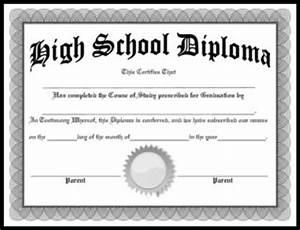 free homeschool diplomas template With free printable high school diploma templates