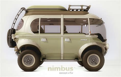 concept bus the nimbus concept is a futuristic 4x4 take on the vw bus