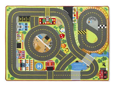alfombra infantil de carreteras de doug hogar