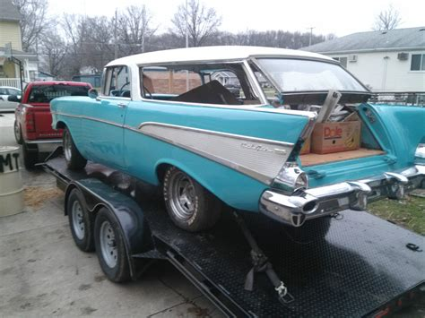 1957 Chevy Nomad Project Car Classic Chevrolet Nomad
