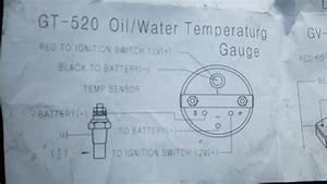 Technical  Wiring Water Temp  Gauge