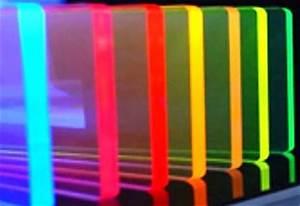 Fluorescent ACRYLITE GP sheet
