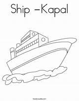 Ship Coloring Kapal Boat Raft Usa Twistynoodle Noodle Columbus Built California Twisty Login Favorites sketch template