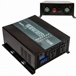 Power Inverter 1000w 12  24  48v To 120  220v Pure Sine Wave
