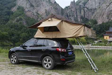 Car Tents by Outdoor Cing Tent Traveling By Car The Soft Top Canvas