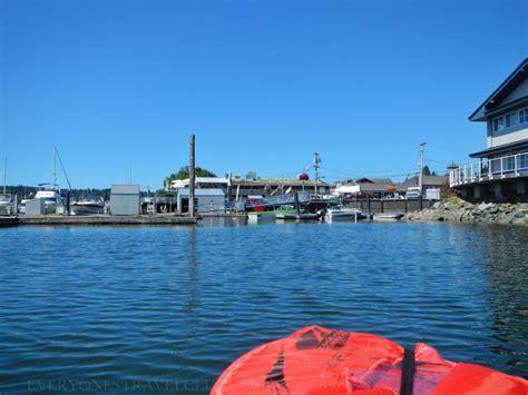 Calories Burned Dragon Boat Paddling by Kayaking Liberty Bay Poulsbo Washington Fish Park