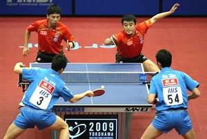 World Championships 2009 - Table Tennis - Mens Doubles Results