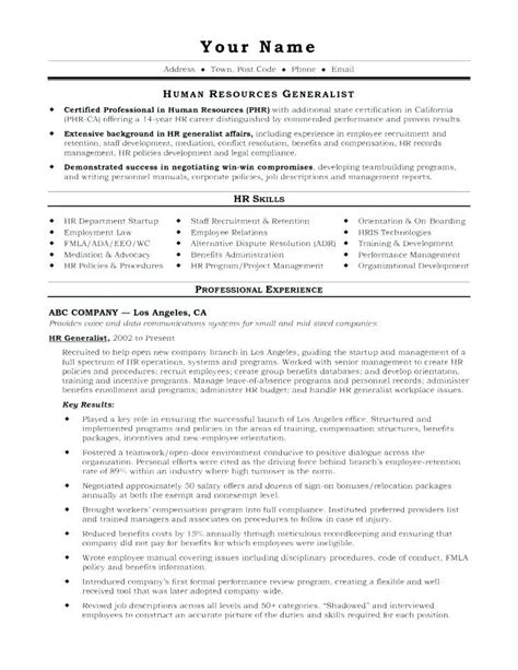 sample hr resumes hr resume job resume samples resume