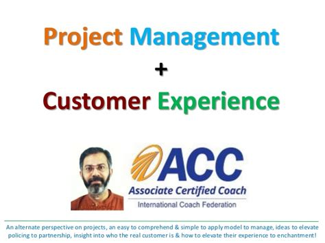 Project Management Experience Exles by Project Management Customer Experience By Prakashswamy