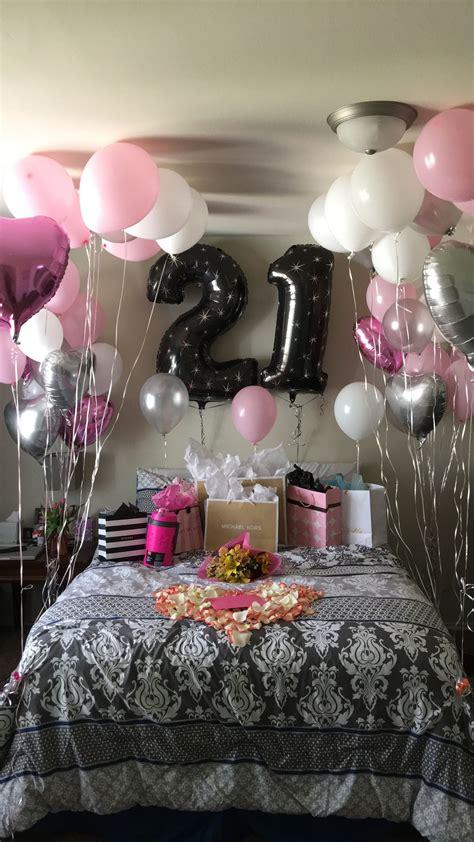 st birthday surprise birthday room decorations
