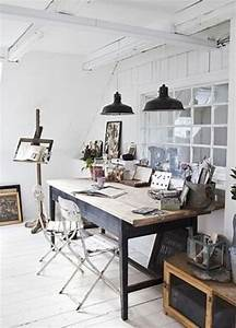 Work, In, Coziness, 20, Farmhouse, Home, Office, D, U00e9cor, Ideas