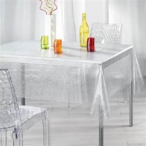 Nappe Cirée Rectangulaire : nappe cir e rectangulaire l240 cm ecaille cristal linge de table eminza ~ Teatrodelosmanantiales.com Idées de Décoration