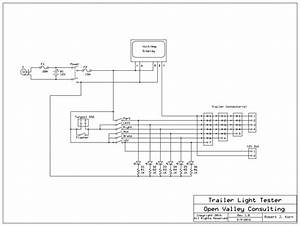 Wiring Diagram For Trailer Light  With Images