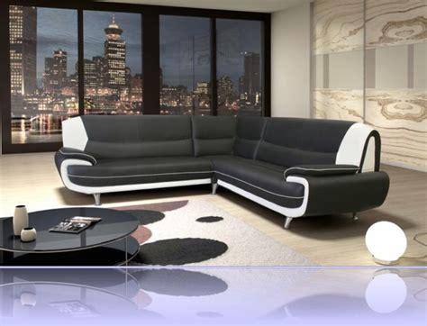 canape cuir noir et blanc canape simili cuir noir et blanc table de lit a roulettes