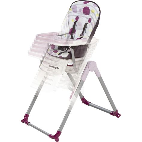chaise haute r 233 glable slim prune de babymoov chez naturab 233 b 233