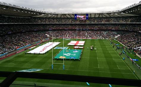 England vs. Ireland | Rugby World Cup warm-up match. | Dan ...